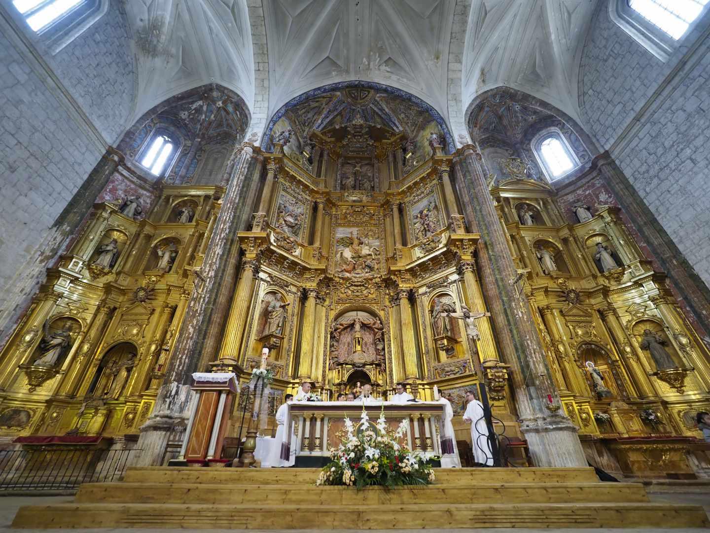 Parroquia Santiago Apóstol de Cigales, en Valladolid.