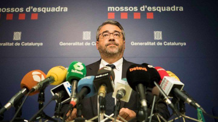 El director de los Mossos d'Esquadra, Andreu Joan Martínez.
