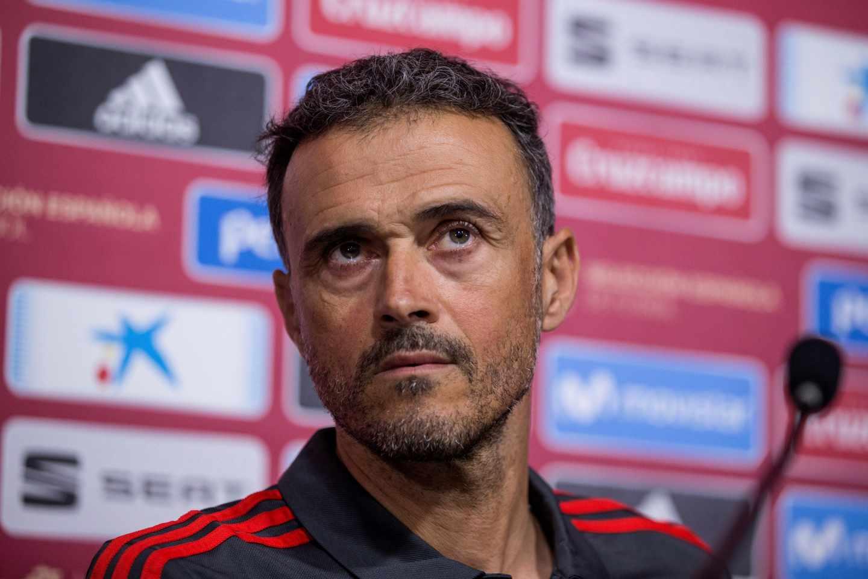 Luis Enrique, seleccionador nacional.