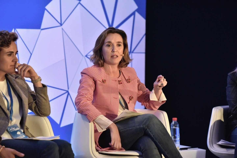 Cuca Gamarra, vicesecretaria de Política Social del PP