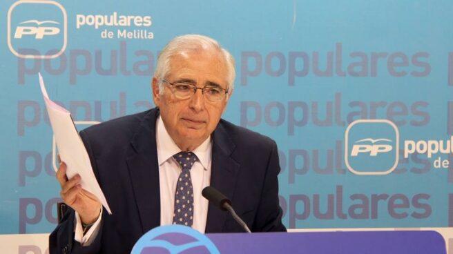 El presidente de Melilla, Juan José Imbroda