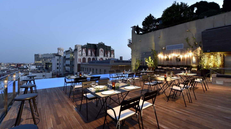 Gran Hotel Central en Barcelona.