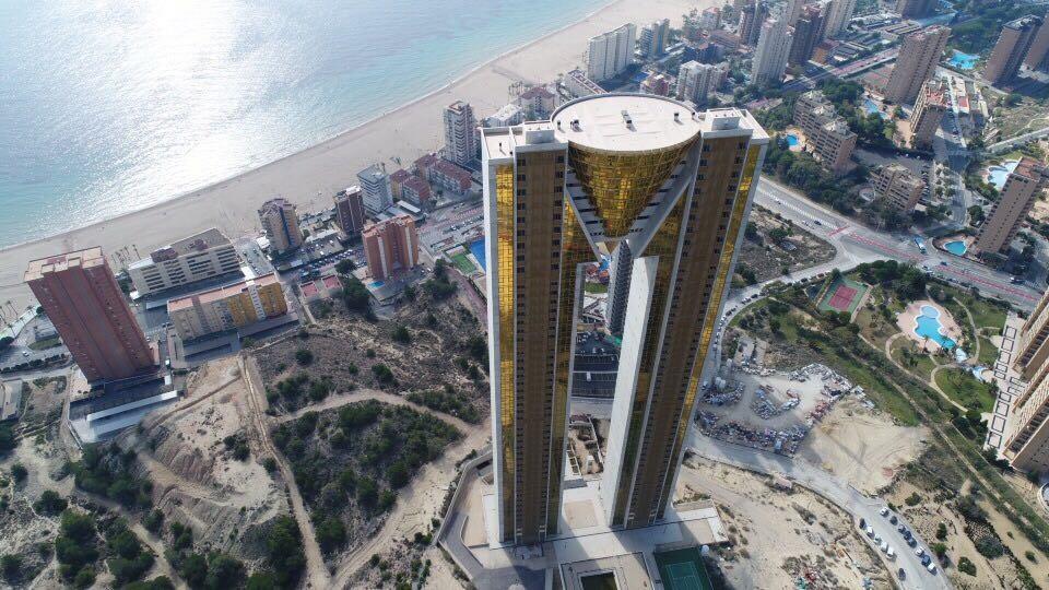 Imagen aérea de Benidorm