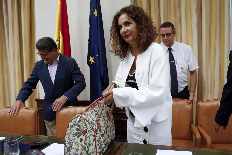 Maria Jesús Montero, Ministra de Hacienda