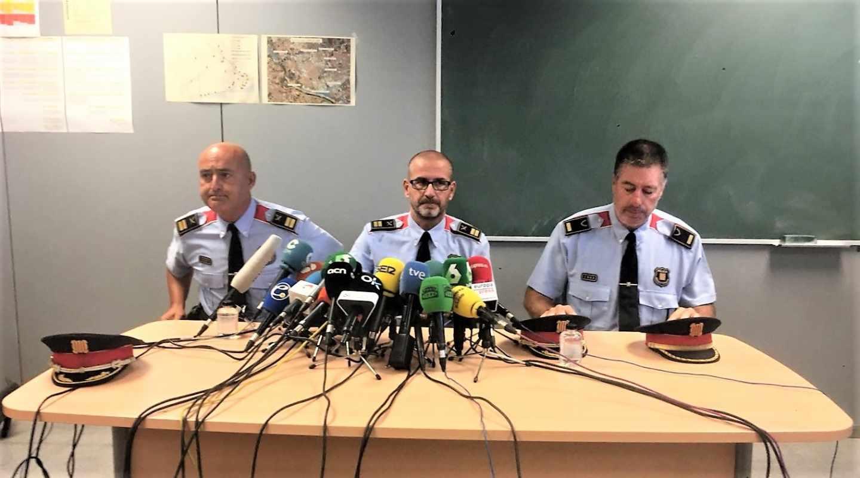 Rafael Comas, comisario de los Mossos d'Esquadra