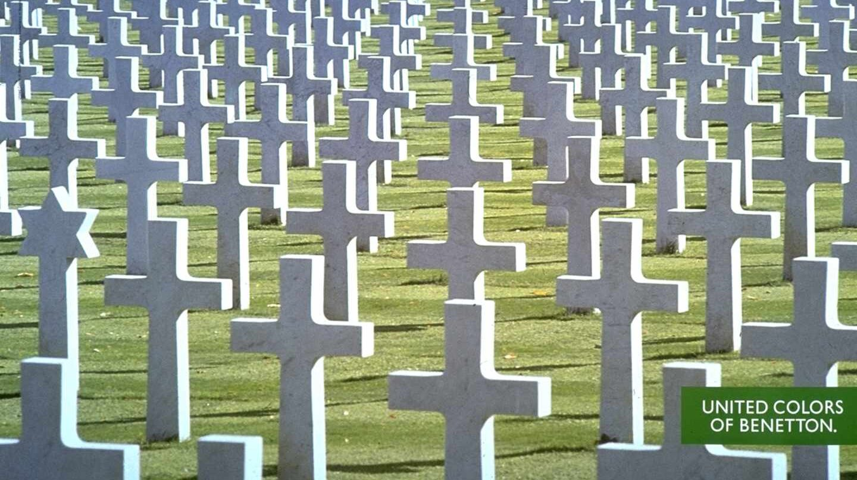 'Cementery', una de las históricas campañas de Benetton.