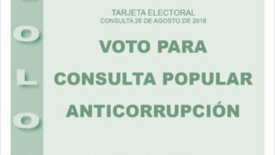 La lacra de la corrupción en Colombia llevada a referéndum