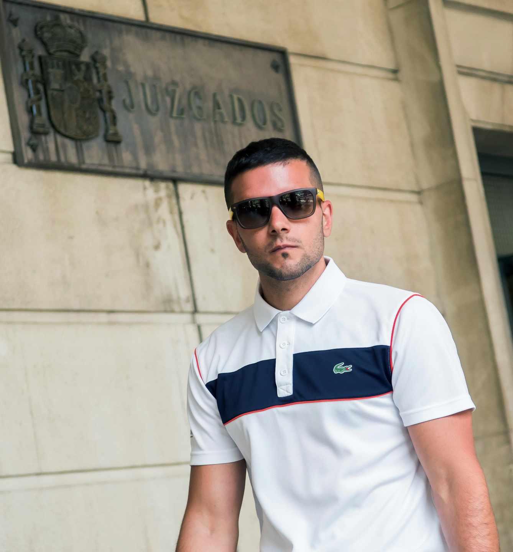 Ángel Boza, el miembro de La Manada detenido por robar unas gafas de sol y embestir a dos vigilantes.