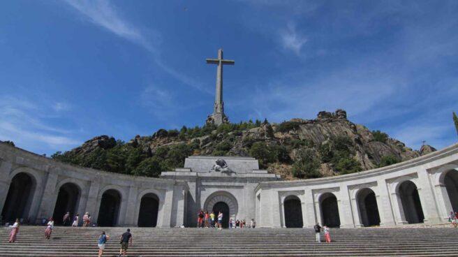 Basílica del Valle de los Caídos, a los pies de la Sierra de Guadarrama.