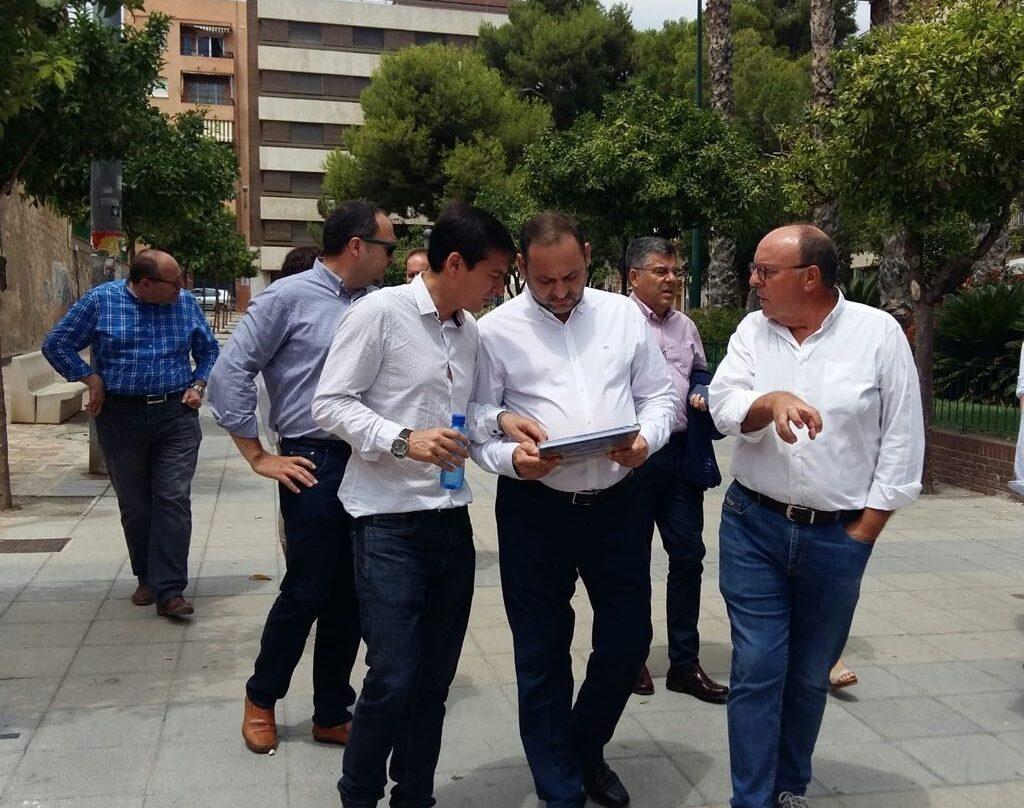 Ábalos el pasado 23 de julio en Burjassot (Valencia).