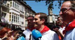 Pablo Casado junto a Alfonso Alonso, en Vitoria en una imagen de archivo.