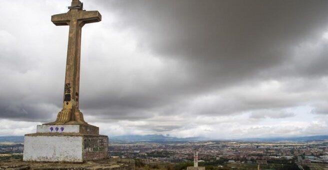 Cruz de Olárizu, en Vitoria.