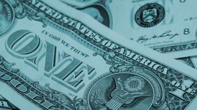 Billete de un dólar.