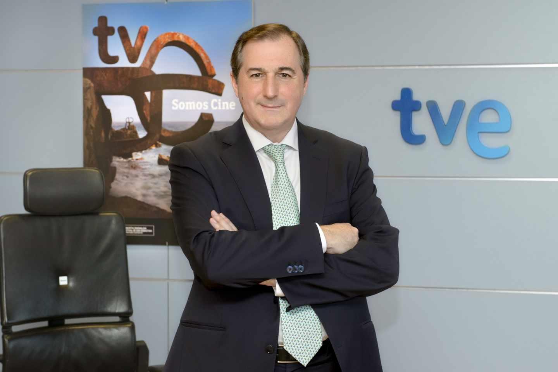 El director de TVE, Eladio Jareño.