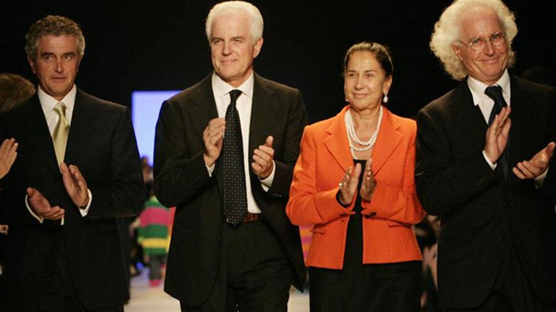 Los cuatro hermanos Benetton