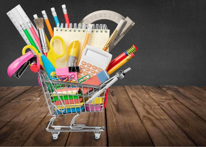 Ir sin niños a por el material escolar abarata la compra.