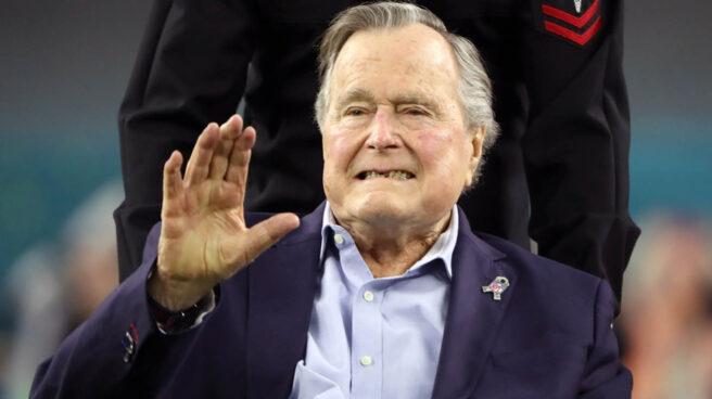 George HW Bush, en una imagen reciente.