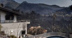 El incendio de Llutxent, en imágenes