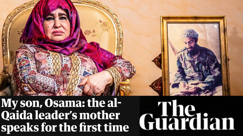 Primera entrevista de la made de Osama Bin Laden a periódico The Guardian