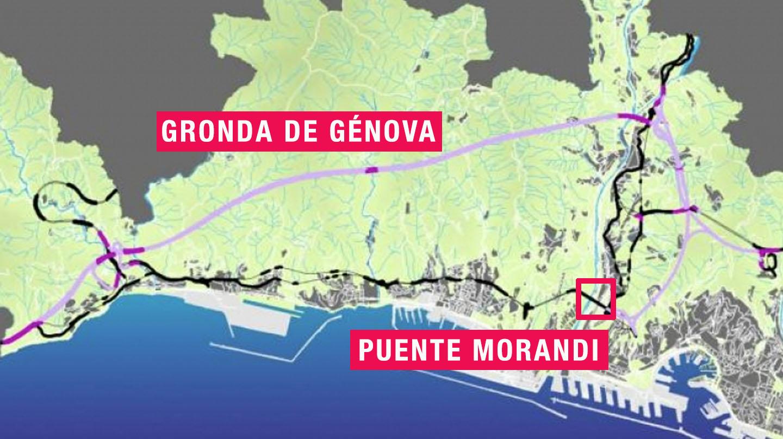 El proyecto alternativo al Puente Morandi