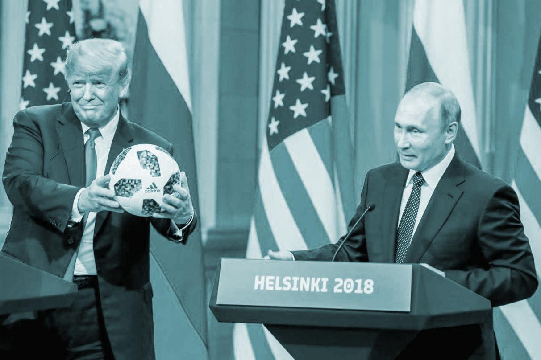 Trump y Putin, en su reunión de Helsinki.