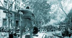 Protestas del taxi en Barcelona.