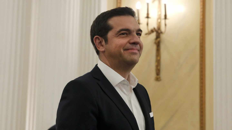 Alexis Tsipras, primer ministro de Grecia.