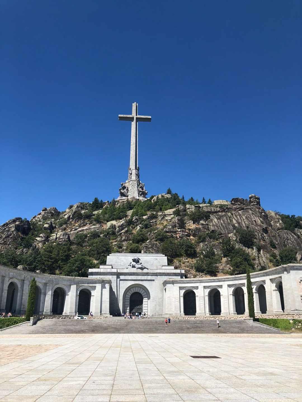 El Valle de los Caídos, donde permanece enterrado Franco desde noviembre de 1975.
