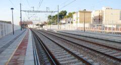Vías de tren en la Provincia de Castellón.