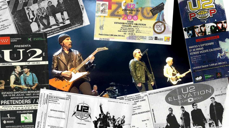 30 años de U2 en España