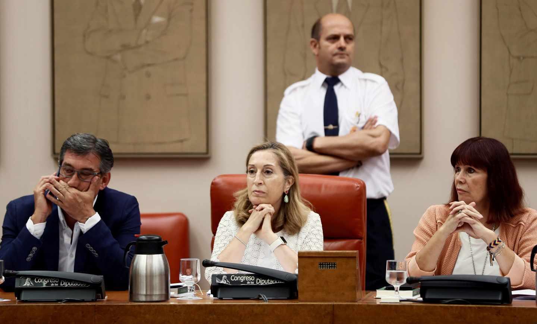 La presidenta de la Comisión Permanente del Congreso, Ana Pastor,