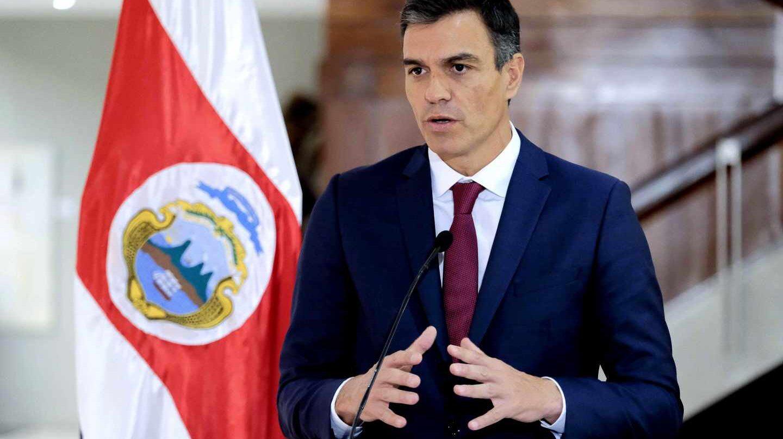 Pedro Sánchez, en San José de Costa Rica.