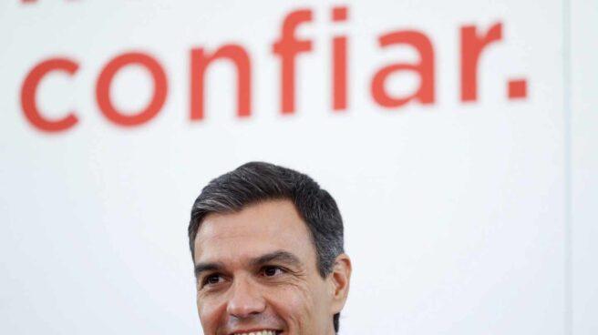 Pedro Sánchez, en la Ejecutiva del PSOE.