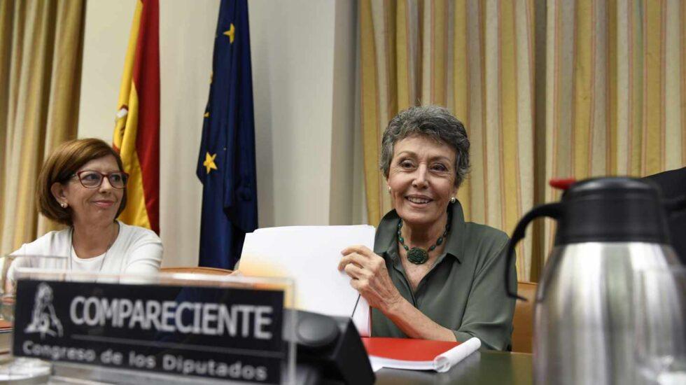 La administradora provisional única de la corporación RTVE, Rosa María Mateo.