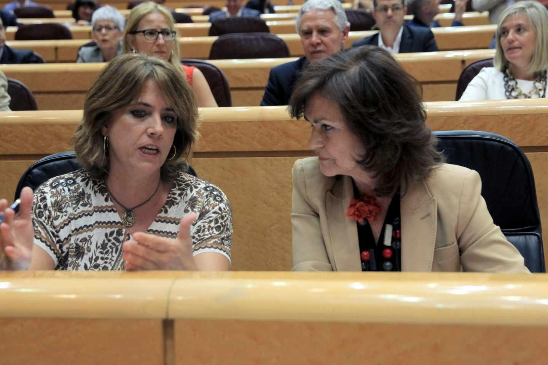 Delgado y Calvo, en el Senado.