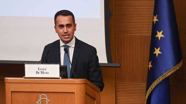 El vicepresidente y ministro de Desarrollo Económico de Italia, Luigi Di Maio