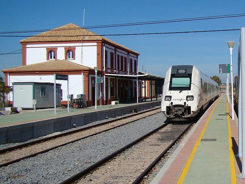 Tren media distancia de la serie S-598.