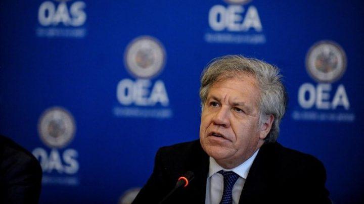 Luis Almagro, secretario general de la OEA (Organización de Estados Americanos).