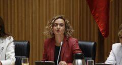 La ministra Meritxell Batet, en el Congreso.