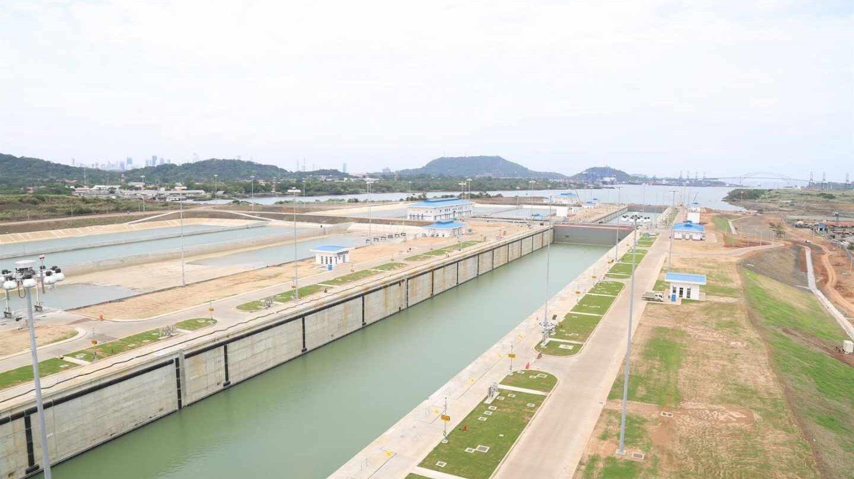 Instalaciones del Canal de Panamá.