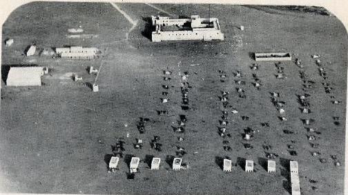 Foto aérea de Villa Cisneros en 1932.