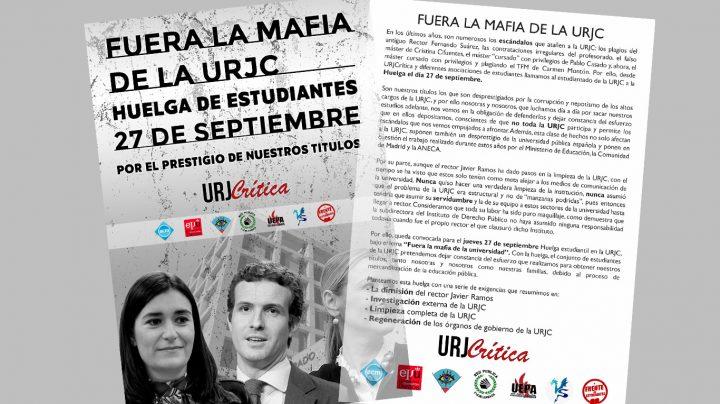 Huelga de estudiantes URJC