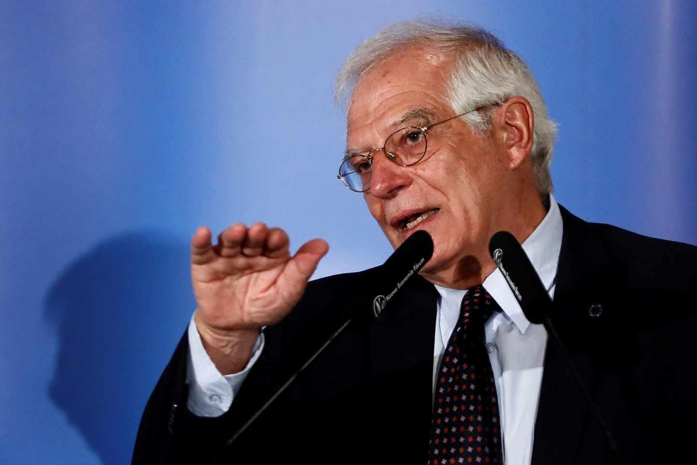 Josep Borrell, ministro español de Ext4eriores.