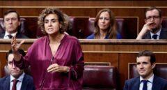 """Malestar en el PP con la """"bisoñez"""" de Dolors Montserrat ante la maniobra del Gobierno"""