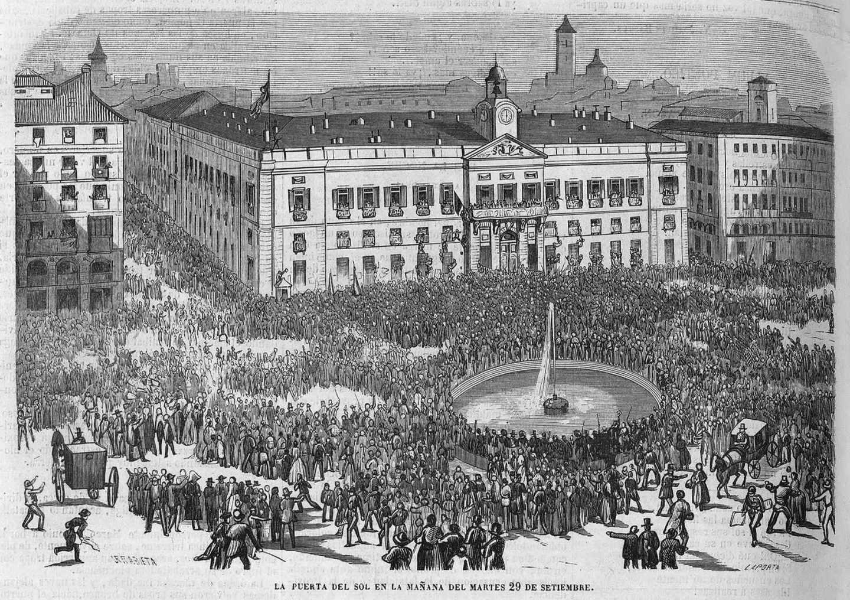 """La revolución de 1868: Cuando España clamó """"¡abajo los Borbones!""""."""