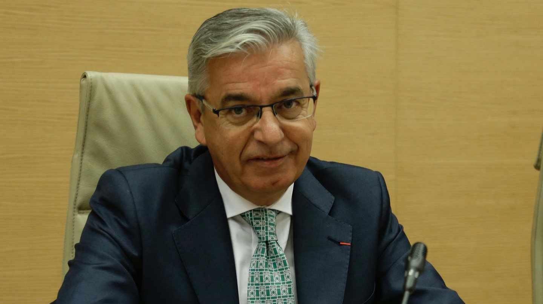 Manuel Sánchez Corbí, durante una comparecencia en el Congreso durante su etapa como jefe de la UCO.