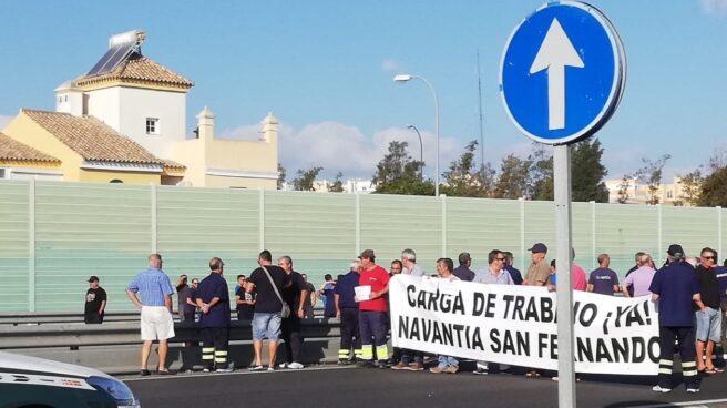 Movilizaciones de los trabajadores de Navantia