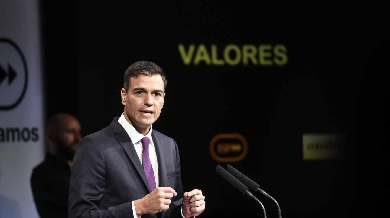 Pedro Sánchez, en los cien días de Gobierno.
