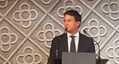 Manuel Valls, en Barcelona.
