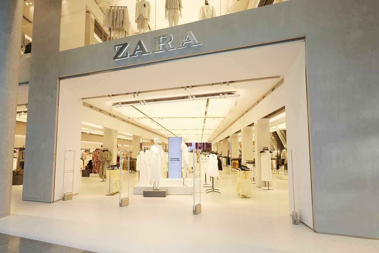 Tienda de Zara, la principal enseña de Inditex.
